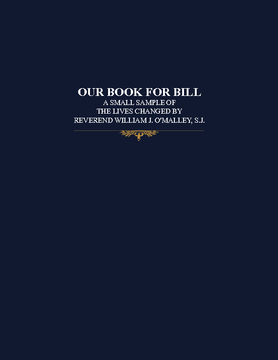 OUR BOOK FOR BILL