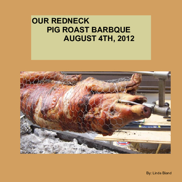 Red Neck Pig Roast