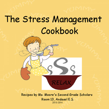 The Stress Management Cookbook