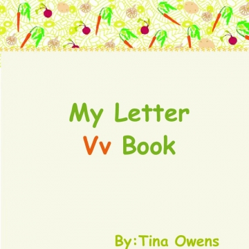 My Letter Vv Book
