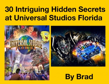 30 Intriguing Hidden Secrets at Universal Studios Florida