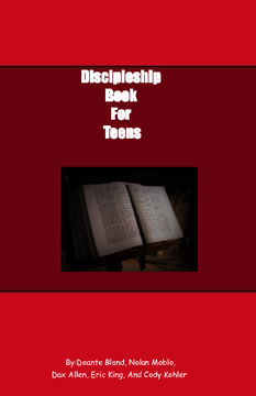 Discipleship Book for teens
