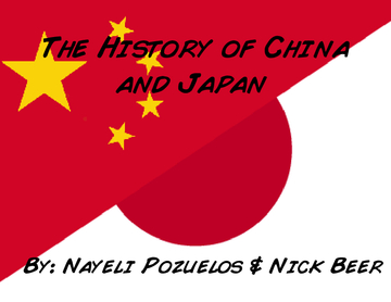 The History of China and Japan
