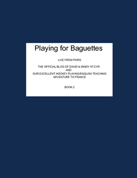 Playing For Baguettes - Book 2