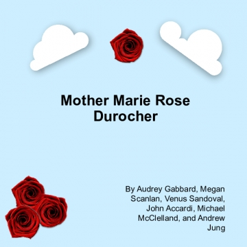 Mother Marie Rose Project