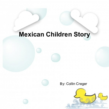 Mexican Children Story Book
