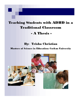 Teaching Students with ADHD in a Traditional Classroom