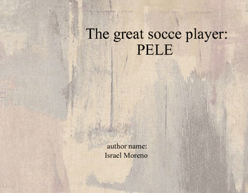 THE GREAT SOCCER PLAYER PELE