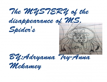 The MYSTERY of the disappearance of MS.spider's