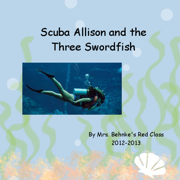 Scuba Allison and the Three Swordfish