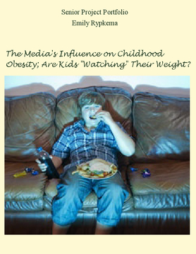 The Media's Influence on Childhood Obesity