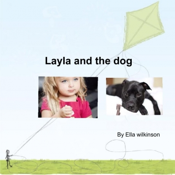 Layla and the dog