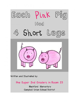 Each Pink Pig had 4 Short Legs