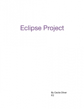 Cecile 2 Eclipse Project
