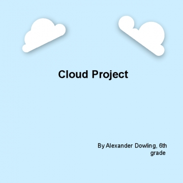 Cloud project