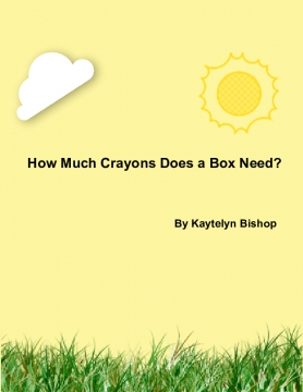 How Much Crayons Does a Box Need?