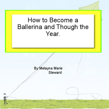 how to become a ballerina and though the dance year