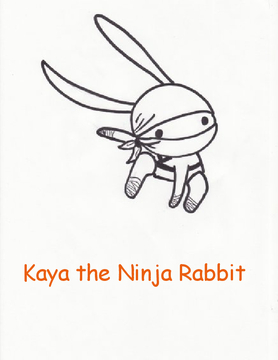 Kaya the Ninja Rabbit