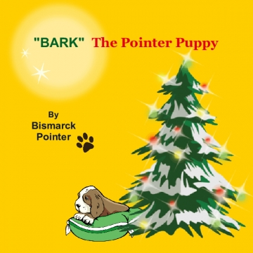 """Bark"" The Pointer Puppy"