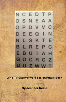 Jen's TV Sitcoms Word Search Book
