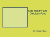 Children's Healthy Delicious Recipe