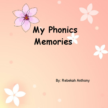My Phonics Memories