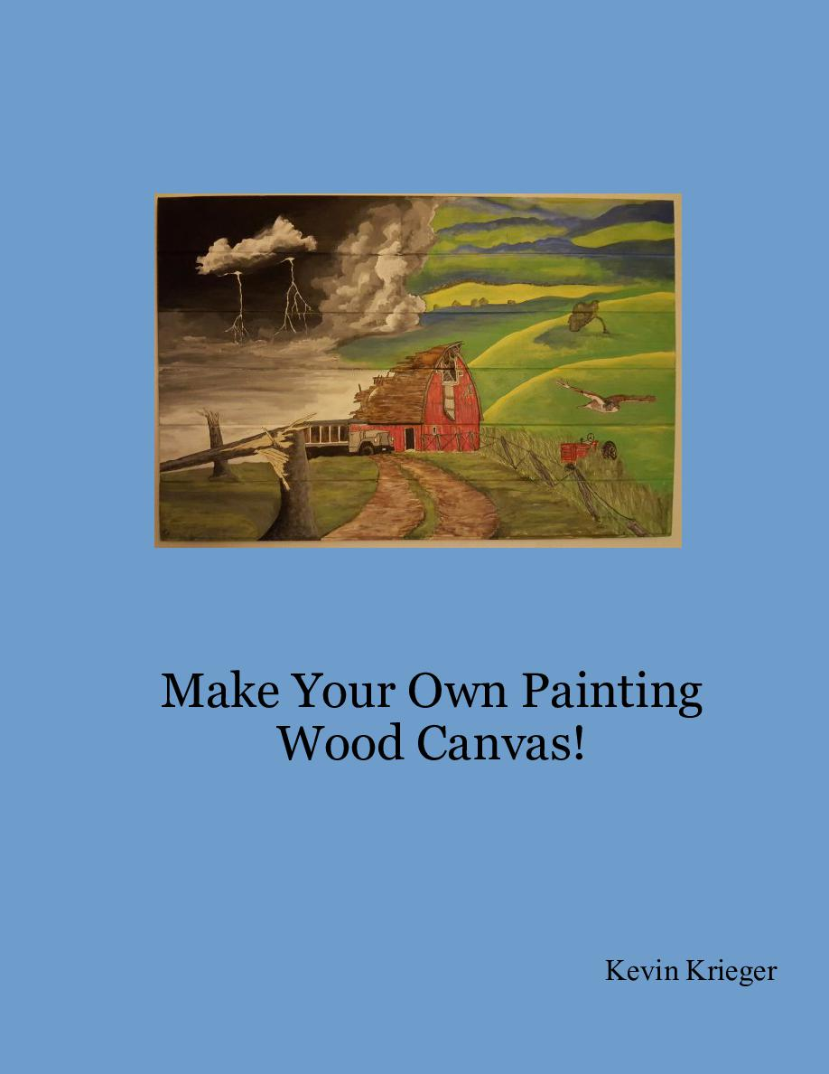 Make Your Own Painting Wood Canvas Book 663704 Bookemon