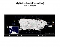 My Native land Puerto Rico