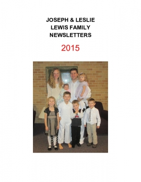 2015 Family Letters