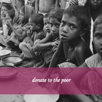 donate to the poor