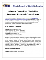 Alberta Council of Disability Services
