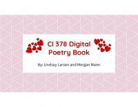 CI378 Digital Poetry Project
