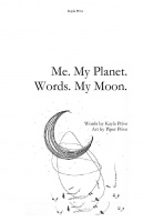 Me. My Planet. Words. My Moon.