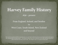 Harvey Family Tree II