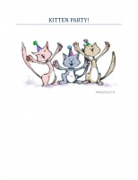 Kitten Party: Kitten Picture Book For Babies