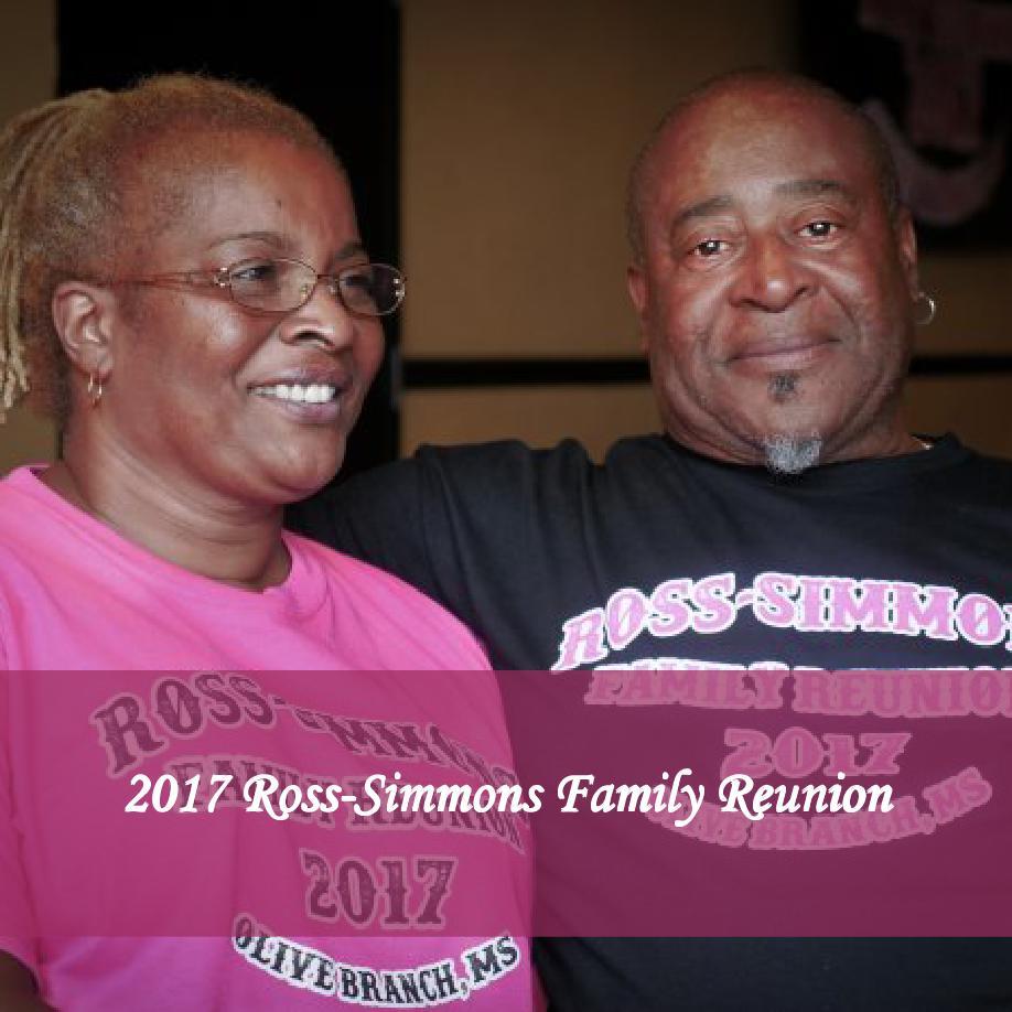2017 Ross Simmons Family Reunion