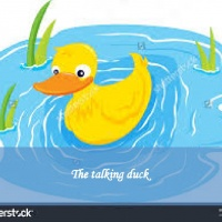 The talking duck