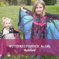 BUTTERFLY DANCE  by Lilly Robillard