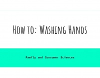 How to  Washing Hands