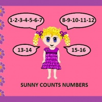 SUNNY COUNTS NUMBERS