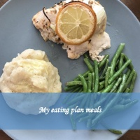 My eating plan meals