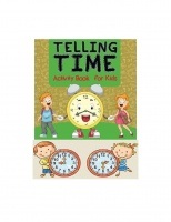 TIME - ACTIVITY BOOK FOR KIDS