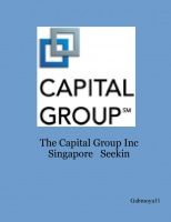The Capital Group Inc Singapore   Seekin