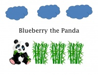 Blueberry is a panda