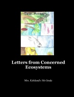 Letters from Concerned Ecosystems