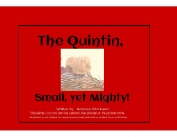 The Quintin, Small, yet Mighty!