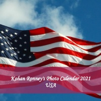 Kohan Ronney's USA Photo Calendar 2021