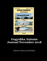 Gogyohka Autumn Journal November 2018