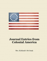 Journal Entries from Colonial America