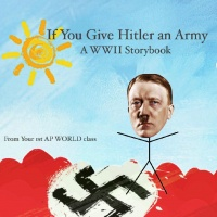 If you give hitler an army